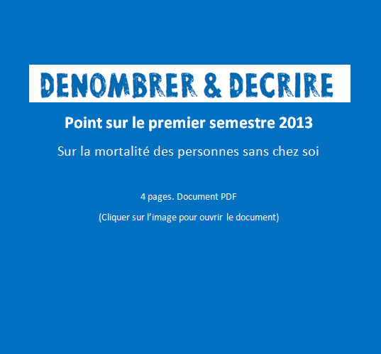 Point sur le premier semestre 2013